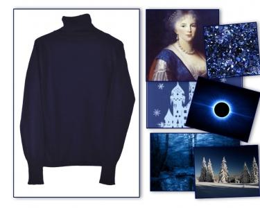Nordic Winter Sapphire Dusk