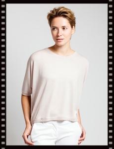 Asneh Greta Batwing Silk Cashmere shirt