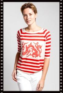 Asneh Jada Dragon Print Silk Cashmere Shirt
