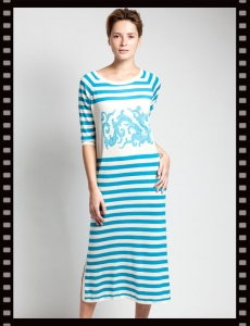 Asneh Jada Silk Cashmere Dress
