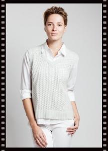 Asneh Rita Silk Cashmere Vest