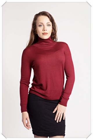 cashmere roll-neck by Asneh