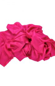 Cerise red cashmere shawl