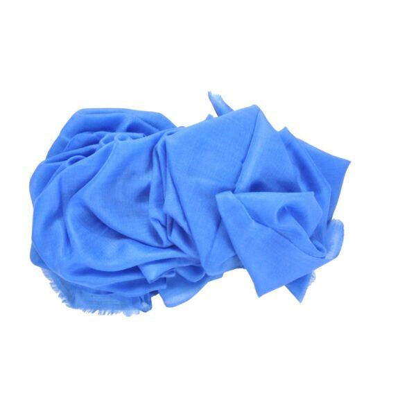 Blue Cashmere scarf Asneh-min
