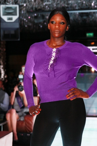 Asneh Fashion Show during London Fashion Week