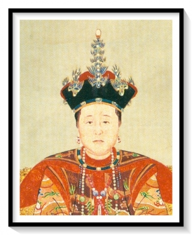 Consort Zhuang in court costume