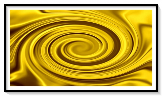 gold liquid swirl Inspiration The Dynasty Collection Asneh